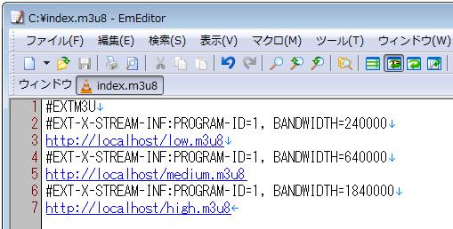 M3u8 Bandwidth