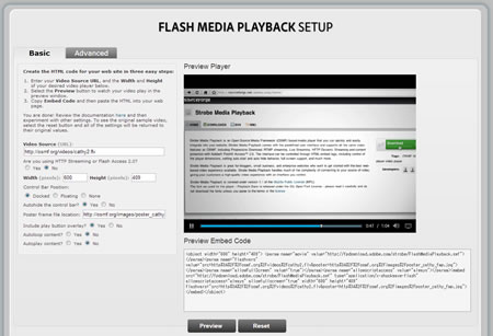 Flash Media Playback