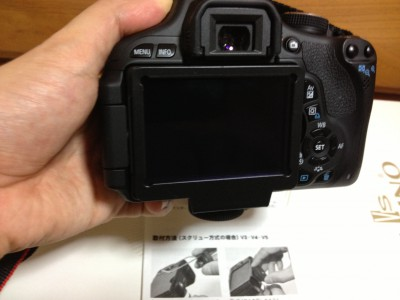 液晶ビューファインダー×2.8 フード NOZOKI me V3