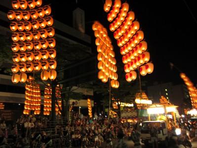 竿燈祭り2013
