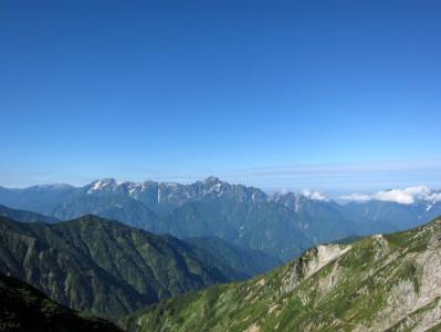 唐松岳 剣岳