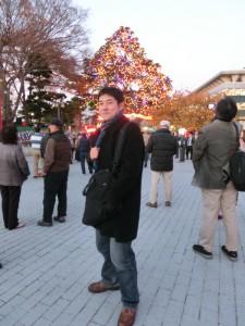 中山競馬場_クリスマスツリー