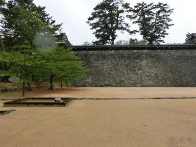 松江城広場