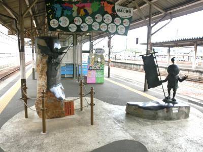 米子駅ホーム1