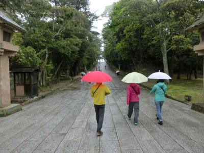 大社への道