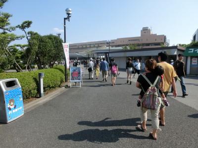 船橋競馬場入口