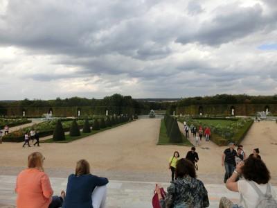 ヴェルサイユ宮殿 庭園入口2