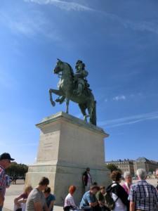 ヴェルサイユ宮殿 ルイ14世像