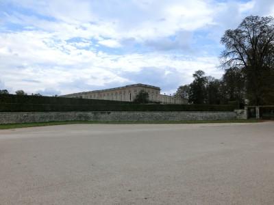 ヴェルサイユ宮殿 別館前