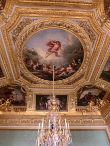 ヴェルサイユ宮殿 天井絵