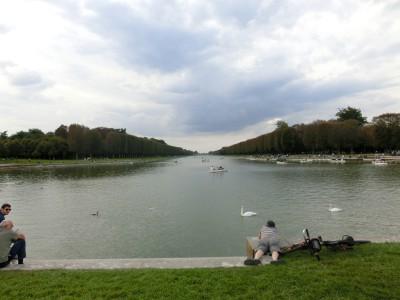 ヴェルサイユ宮殿 大運河