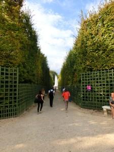 ヴェルサイユ宮殿 庭園3