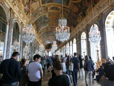 ヴェルサイユ宮殿 鏡の回廊