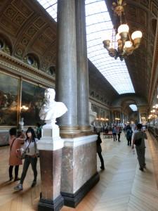 ヴェルサイユ宮殿 絵画の廊下
