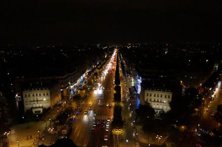 凱旋門夜景2