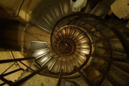 凱旋門螺旋階段