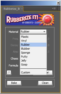 Rubberize it preset