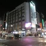 札幌の街並み夜1