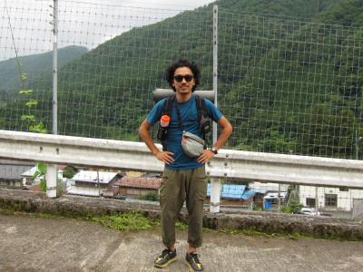三条の湯 登山口