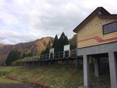 秋田内陸鉄道 阿仁マタギ駅